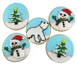 Gorgeous Holiday Sugar Cookies