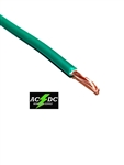 GREEN 8 GAUGE GXL AUTOMOTIVE HIGH TEMP COPPER WIRE