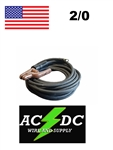 100 Foot 2/0 Welding Cable Lead with Electrode Holder Stinger Whip & Lug