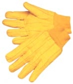 YELLOW CHORE GLOVE - KNIT WRIST