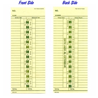 Form 13702-SP Time Cards