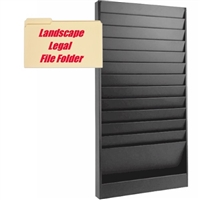 Legal File  Rack, Model 172L, 12 Pocket
