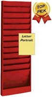 Letter Size Rack Model 174, 12 Pocket