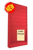Letter Size Rack Model 174-4SL, 6 Pocket