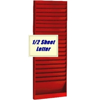 1/2 Letter Size Rack, 181, 20 Pocket