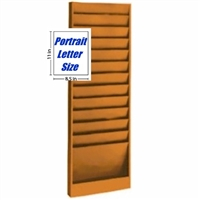 File Folder Rack, Model 200, 12 pocket