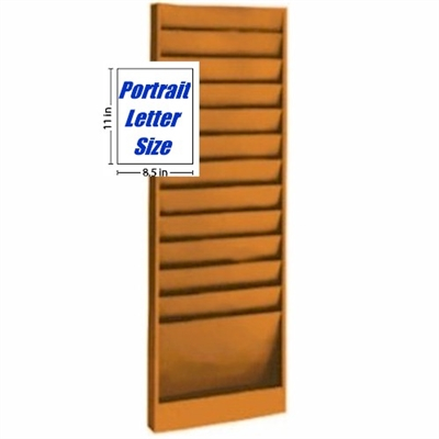 Literature Rack , Model 200, 12 pocket