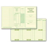 FORM 220 Time Cards