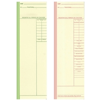 FORM 250 Time Cards