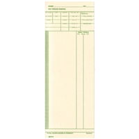 FORM 84171 Time Cards