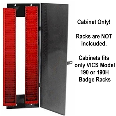 Lockable Security Cabinet for Badge Racks #190
