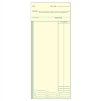 FORM C3000 Time Cards