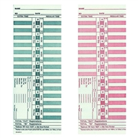 FORM CH131 Time Cards