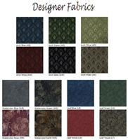 Designer fabric samples