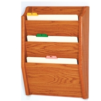 3-Pocket Legal-Size Chart Holder