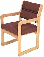 Single Sled-Base Chair w/ Arms
