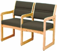 Double Sled-Base Chair w/ Arms (Designer)