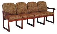 Quadruple Sled-Base Sofa (Designer)