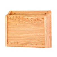 1 Pocket Oak PRIVACY Chart Holder