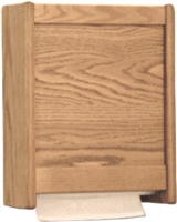 Oak Towel Dispenser