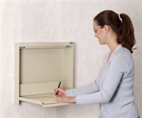 WallWrite X-Ray Fold-Up Desk