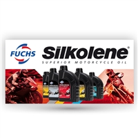 FUCHS Silkolene Outdoor Sign