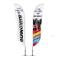 FUCHS Silkolene Event Flags