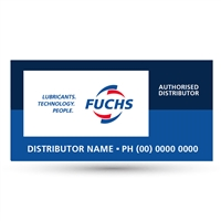 Fuchs Custom Distributor Sign - 2.4m x 1.2m