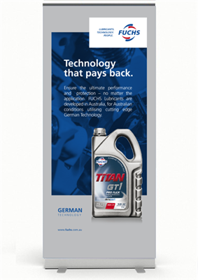 Corporate Pull Up Banner - Technology that pays back