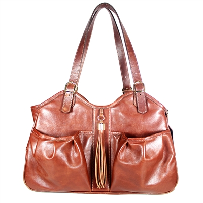 Petote Metro Couture - Toffee with Tassel