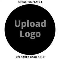 Custom Sign Circle Template 4