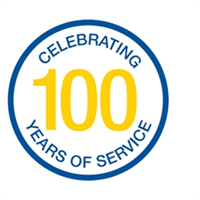 100 Years Anniversary Badge