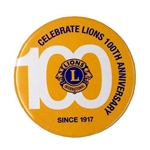 Centennial Button Badge