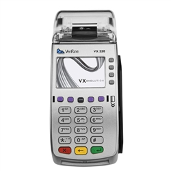 VeriFone Vx520 Dial GPRS 160Mb w/Battery EMV