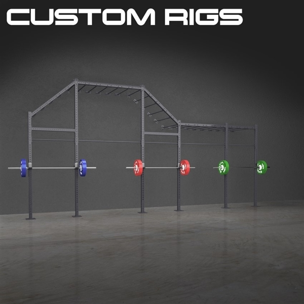 Custom Wall Mounted Rigs for CrossFit Gyms