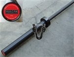 Vulcan Black 20kg Elite Training Olympic Bar