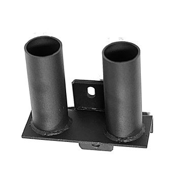 Dual Vertical Olympic Bar Holder for Rig or Power Rack