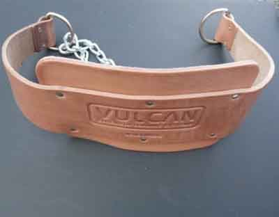 Vulcan Leather Dip Belt