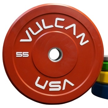 370 lb Color Bumper Plates Set
