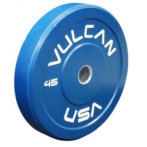 Vulcan 45lb Color Bumper Plate - Blue