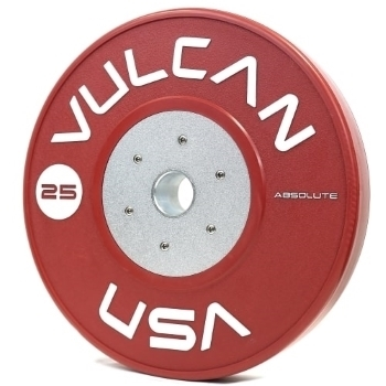 25 Kg Vulcan Absolute Competition Bumper Plates