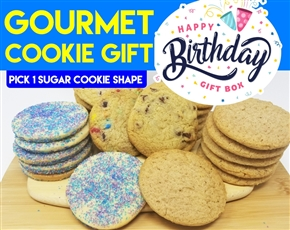Design a Birthday Gourmet Birthday Cookie Gift