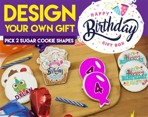 Design a Birthday Sugar Cookie Gift