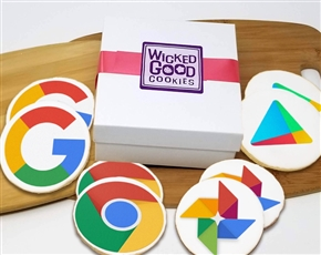 Round Logo Sugar Cookie Gifts