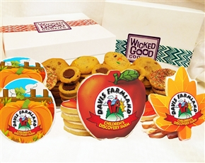 Design a Fall Gourmet Logo Cookie Gift