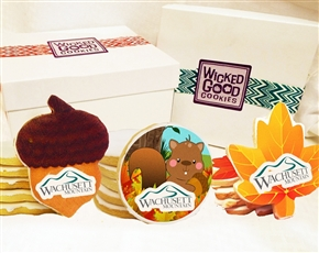 Design a Fall Sugar Logo Cookie Gift