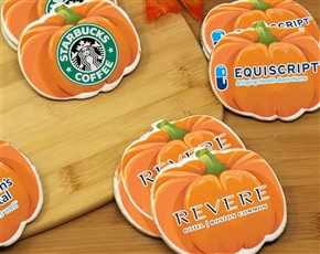Pumpkin Logo Sugar Cookies