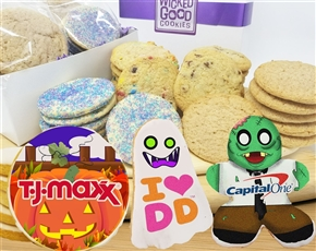 Design Your Own Halloween Gourmet Logo Cookie Gift Box
