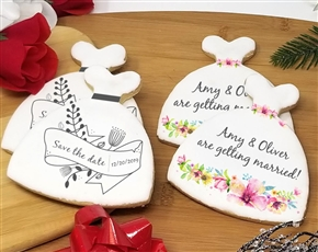 Wedding Gown Sugar Cookies