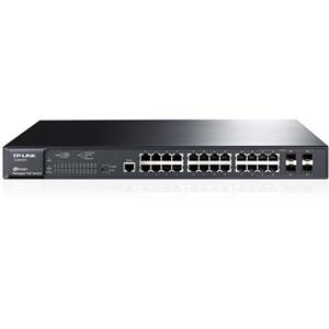 TP-LINK TL-SG3424P 24-Port Gigabit L2 Managed PoE Switch